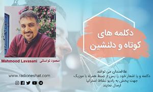 دکلمه های کوتاه و دلنشین/ نجیب خنده تو... شاعر: حمیدرضاآذرنگ با صدای محمود لواسانی