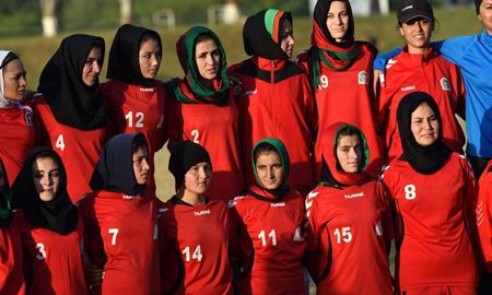 بلاتکلیفی زنان فوتبالیست افغان در پاکستان