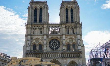 بازسازی کامل کلیسای نوتردام پاریس پس از آتشسوزی ۲ سال پیش