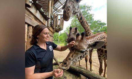 واکسینه شدن حیوانات یک باغ وحش در سینسیناتی آمریکا